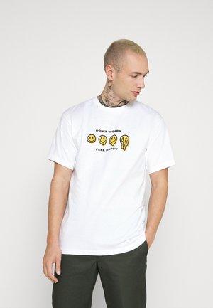 MELTER  - Print T-shirt - white