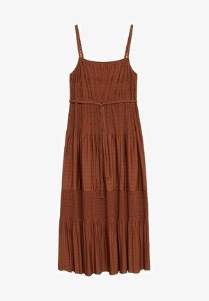 Maxi dress - orange brûlé