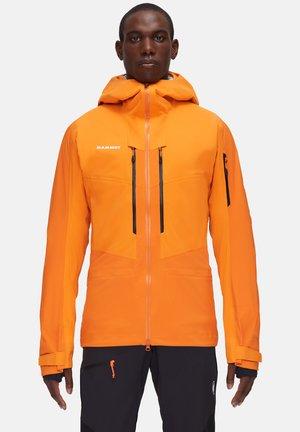 HALDIGRAT - Kurtka snowboardowa - dark cheddar-dark radiant