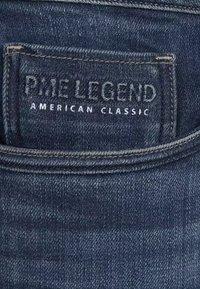 PME Legend - NIGHTFLIGHT - Denim shorts - dark used comfort - 5