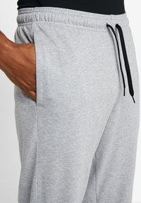 adidas Performance - Verryttelyhousut - medium grey heather/black - 5