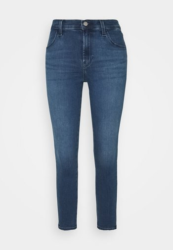 ALANA HIGH RISE CROP - Jeans Skinny Fit - intrepid
