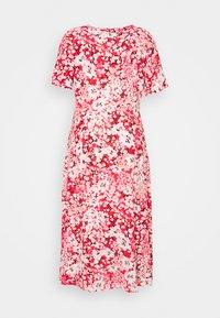 ONLY Carmakoma - CARENOLA MIDI DRESS - Shirt dress - high risk red - 1