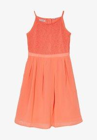 Lemon Beret - FESTIVE DRESS  - Cocktail dress / Party dress - living coral - 2
