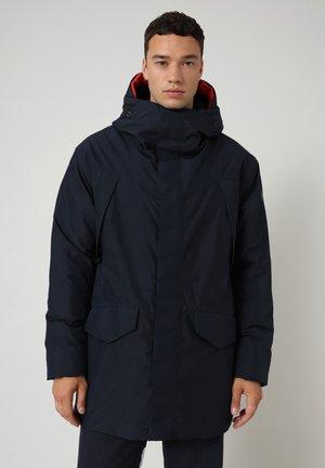 KELVIN - Short coat - blu marine