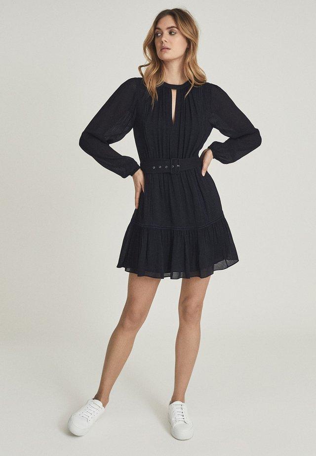 VIENNA - Korte jurk - navy blue