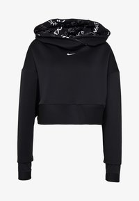 Nike Performance - HOODIE - Jersey con capucha - black/metallic silver - 6