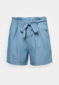 ONLY Carmakoma - CARJEMMA LIFE - Shorts - medium blue denim - 0