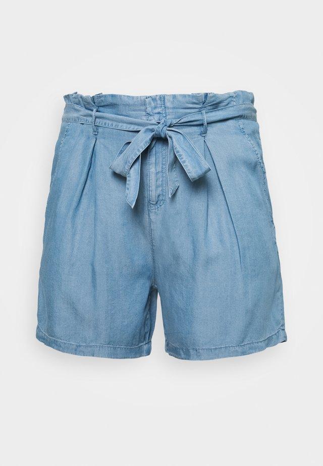 CARJEMMA LIFE - Shorts - medium blue denim