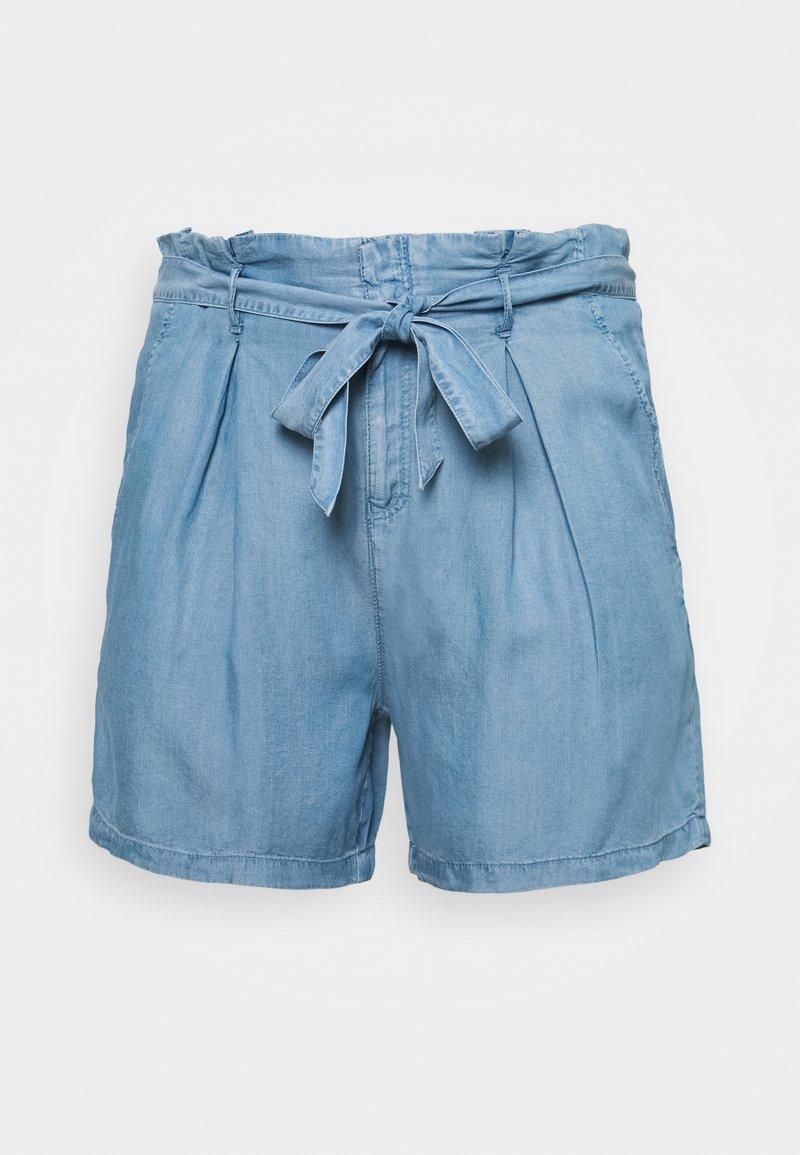 ONLY Carmakoma - CARJEMMA LIFE - Shorts - medium blue denim