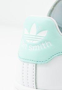 adidas Originals - STAN SMITH - Trainers - footwear white/frozen mint - 2