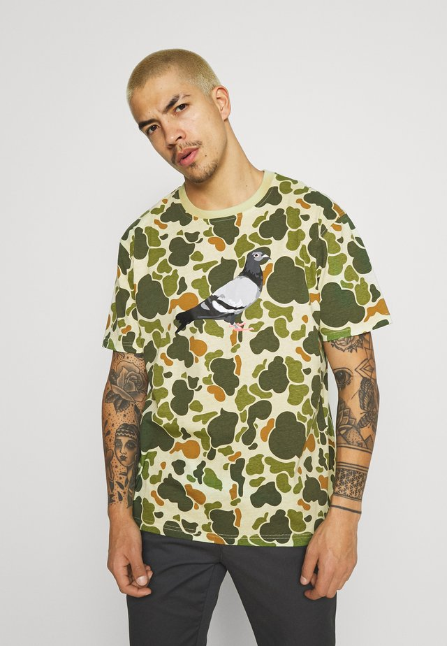 UNISEX LOGO TEE - T-shirts med print - green