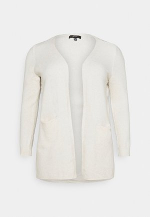 VMDOFFY OPEN - Cardigan - birch melange