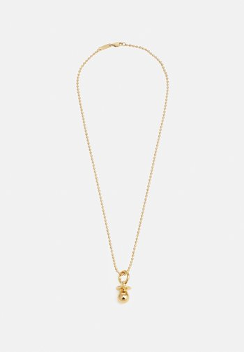 RAVE SOOTHER UNISEX - Necklace - gold-coloured