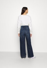 NU-IN - HIGH RISE WIDE LEG JEANS - Relaxed fit jeans - dark blue wash - 2