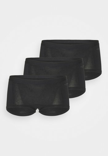 SOLID MIA 3 PACK - Boxerky - black beauty