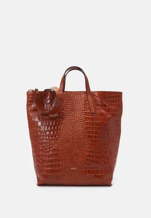 SHOPPER JULIE - Shopping bag - caramel