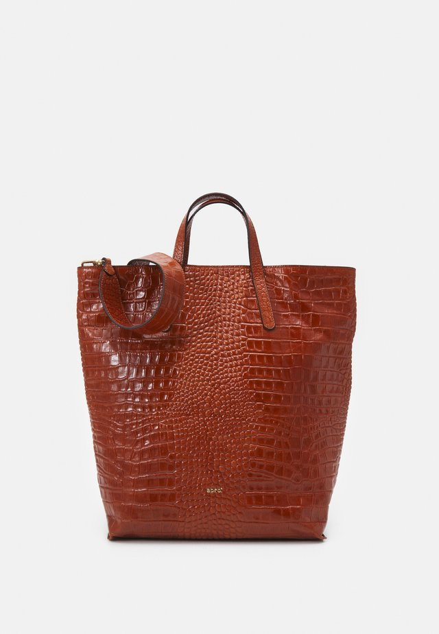 SHOPPER JULIE - Shopper - caramel