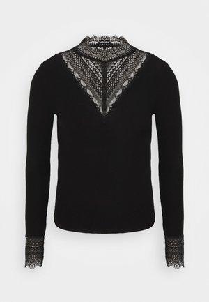 ONLTILDE HIGH NECK  - Bluzka z długim rękawem - black