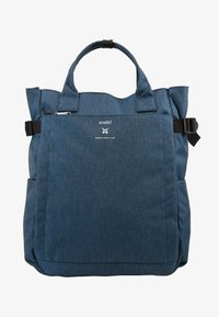 anello - OPEN TOTE BACKPACK - Reppu - navy - 1