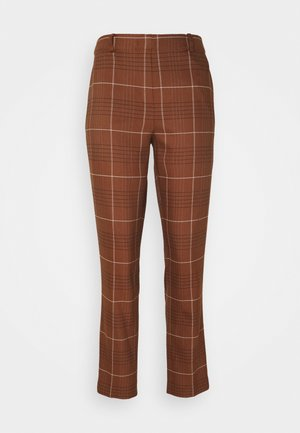 PANTS TAILORED MEDIUM - Trousers - cognac