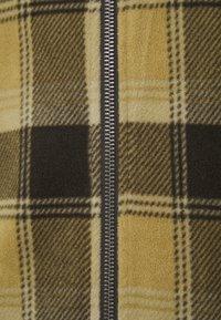 Brixton - LANE MOCK NECK X ZIP - Vest - brown - 2