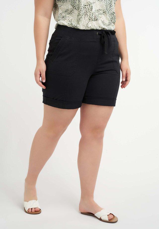 MET ELASTIEKE BAND - Shorts - black