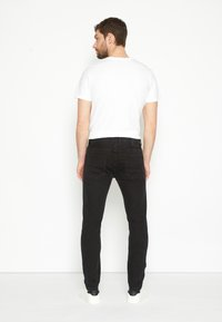 TOM TAILOR - TROY - Slim fit jeans - black denim - 2