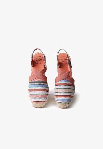 TARBES - Wedge sandals - malta