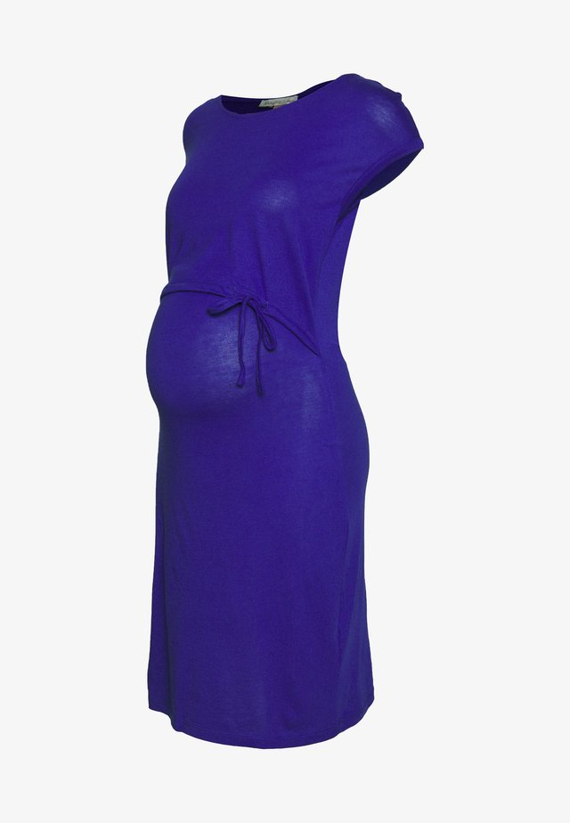 NURSING DRESS - Vestito di maglina - clematis blue
