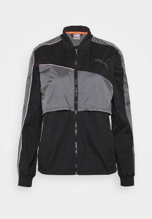RUN LAUNCH ULTRA JACKET  - Sports jacket - black/castlerock