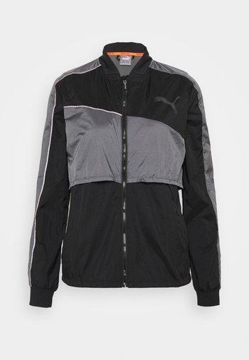 RUN LAUNCH ULTRA JACKET  - Sports jacket - black/castlerock