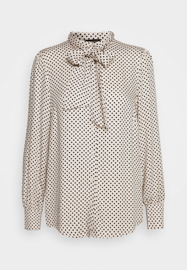 BLOUSE SLEEVE - Camicia - powder creme