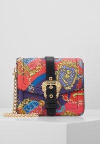 Versace Jeans Couture - PRINTED SHOULDER BAG BAROQUE - Across body bag - multicolor - 0