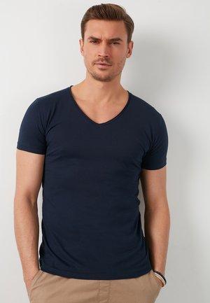 T-shirt basic - navy blue