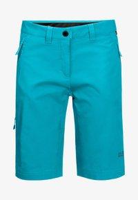 Jack Wolfskin - Outdoor shorts - dark aqua - 2