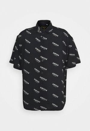 REPEAT PRINT RESORT SHIRT - Shirt - black/ecru
