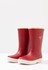 IGOR - SPLASH NAUTICO BORREGUITO - Stivali di gomma - rojo/red - 3