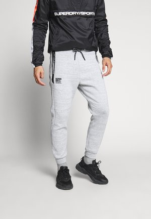 GYMTECH - Pantalon de survêtement - light grey marl