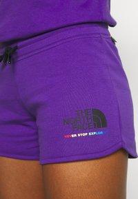 The North Face - RAINBOW SHORT - Sports shorts - peak purple - 5