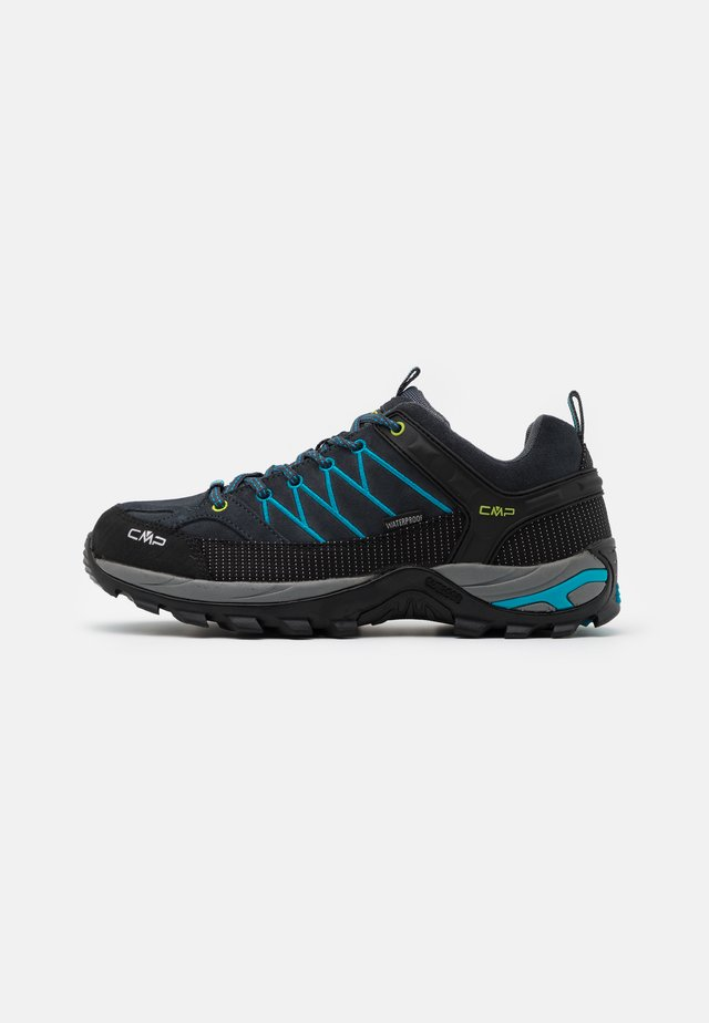 RIGEL LOW TREKKING SHOES WP - Outdoorschoenen - antracite/rif