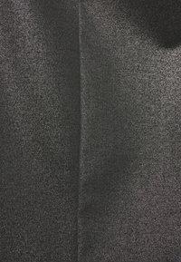 Calvin Klein Jeans - COATED MILANO SKIRT - Pencil skirt - black - 5