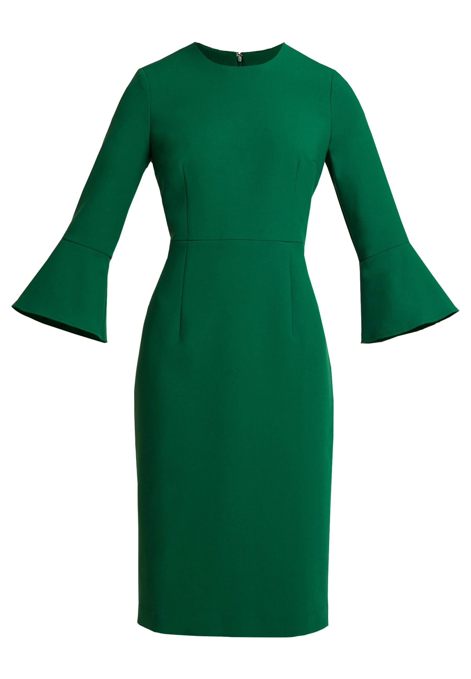 IVY & OAK TRUMPET SLEEVE DRESS - Etuikjoler - eden green