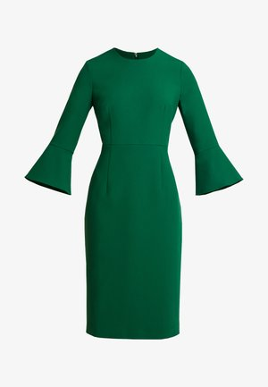 TRUMPET SLEEVE DRESS - Etui-jurk - eden green