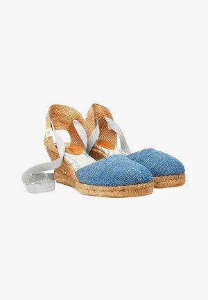 Sandalias de cuña - blue