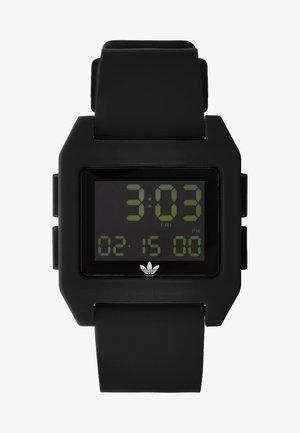 ARCHIVE - Digitální hodinky - all black