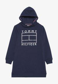 Tommy Hilfiger - ESSENTIAL FLAG DRESS - Vapaa-ajan mekko - blue - 2