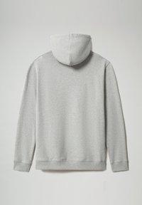 Napapijri - B-BOX HOODIE - Hoodie - medium grey melange - 6