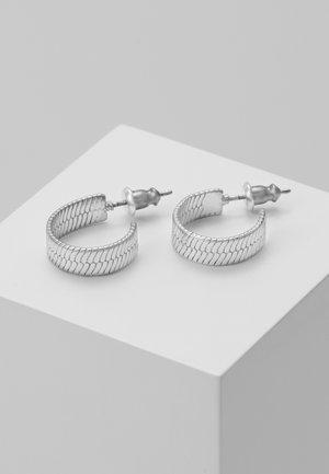 EARRINGS - Kolczyki - silver-coloured