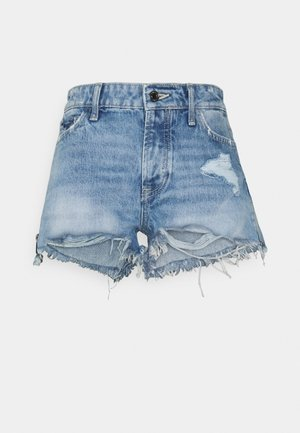 HOLLY ZIP SHORT - Farkkushortsit - riky